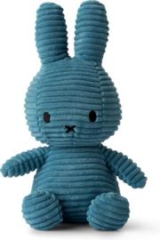 Nijntje Corduroy Blauw 23 cm
