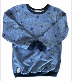 Sweater | Spider | Blue| MissDraad