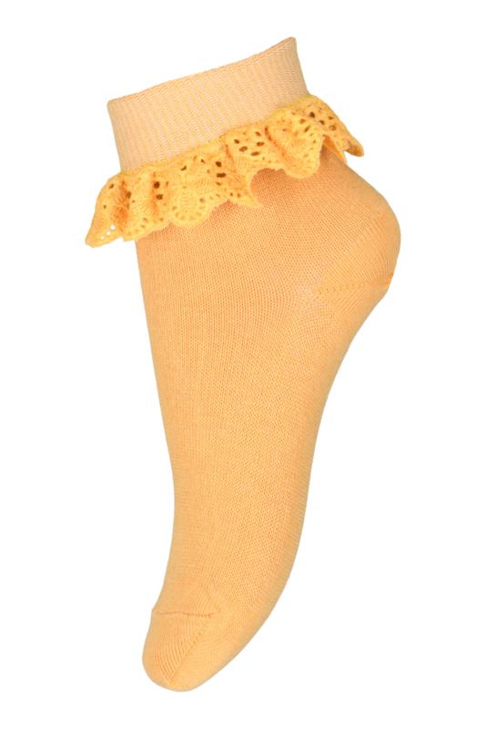 Flippa sokken met kant | Ochre | MP Denmark| Maat 17 t/m 32