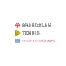 Dames tennis shirt - A champ is afraid...