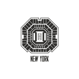 New York centre court