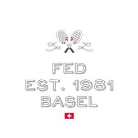 Tennis shirt heren - Big III - Fed