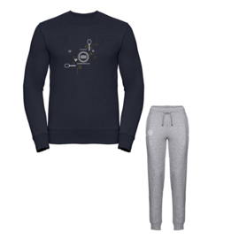 Tennis joggingpak dames - love