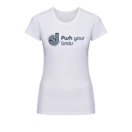 Dames tennis shirt - Push your limits