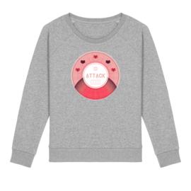 Tennis sweater - attack dames