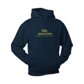 Heren tennis hoodie - grandslam tennis / steden