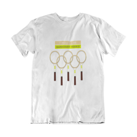 Tennis t-shirt - I really like hardcourt tennis