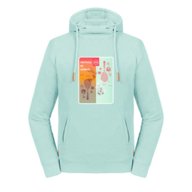 Tennis hoodie dames - Protocol be damned I