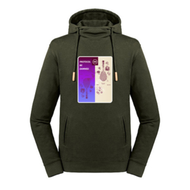 Tennis hoodie heren - Protocol be damned I