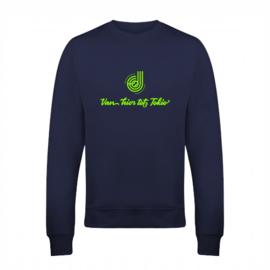 """Sweater """"Van hier tot Tokio"""" Donna Jansen"""