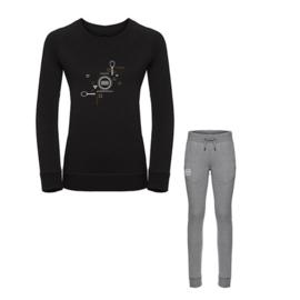 Joggingbroek + trui dames - tennis slimfit love