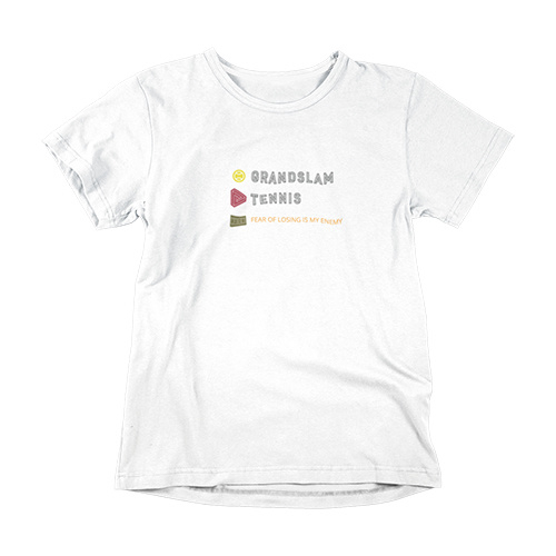 Tennis t-shirt - Fear of losing