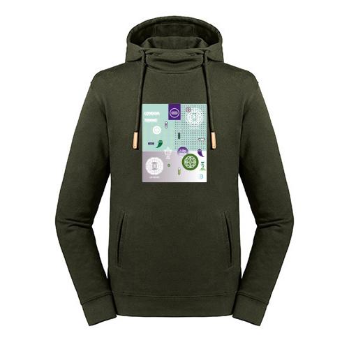 Tennis hoodie - Londen court no.1