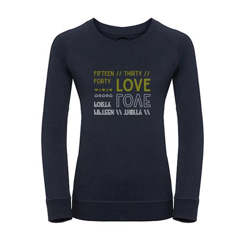 Tennis sweater - fifteen... LOVE