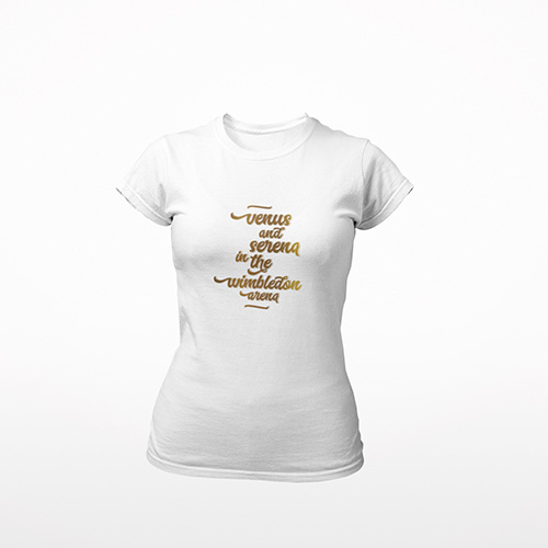 Tennis t-shirt dames - VENUS AND...