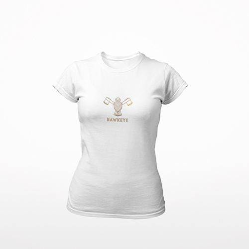 Tennis t-shirt dames - HAWK EYE
