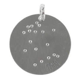 Tweeling zodiac sky - zilver