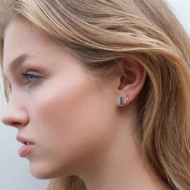 Little ear hoops - zilver