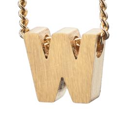 Bedel letter W - goud