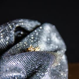 Sterrenstud oorbellen goud