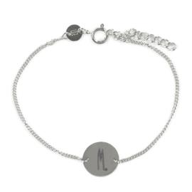 Sterrenbeeld armband schorpioen - zilver