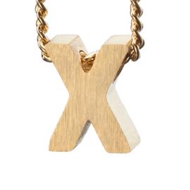 Bedel letter X - goud