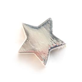 Ster bedel - zilver