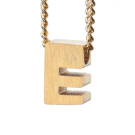 Bedel letter E - goud