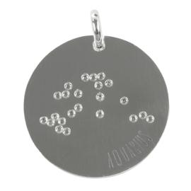 Waterman zodiac sky - zilver