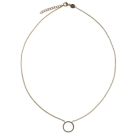Circle of joy necklace - goud