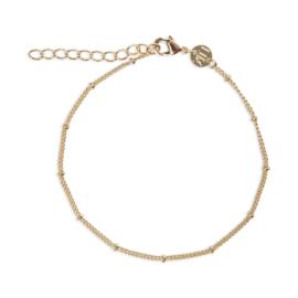 Armband met dots goud