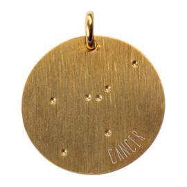 Kreeft zodiac sky - goud