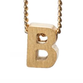 Bedel letter B - goud