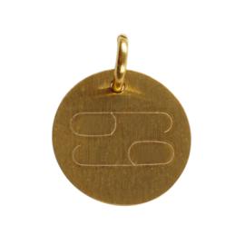 Kreeft zodiac sign - goud