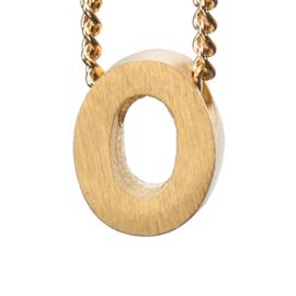 Bedel letter O - goud