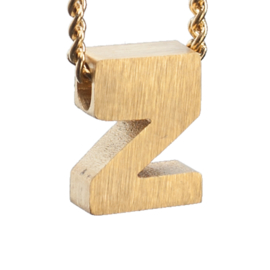 Bedel letter Z - goud