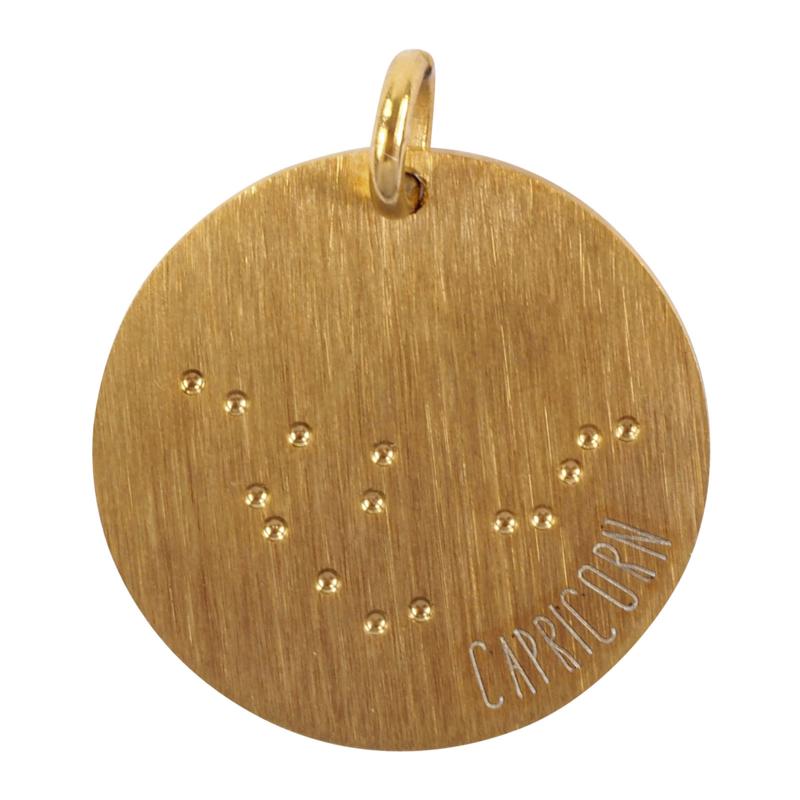 Steenbok zodiac sky - goud