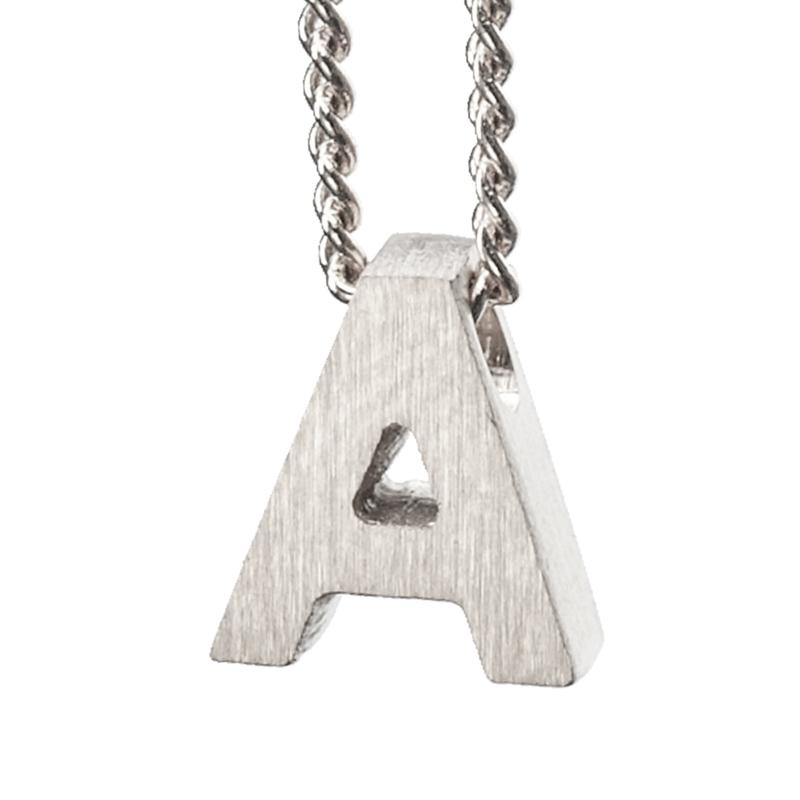 Bedel letter A - zilver