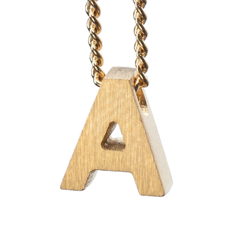 Bedel letter A - goud