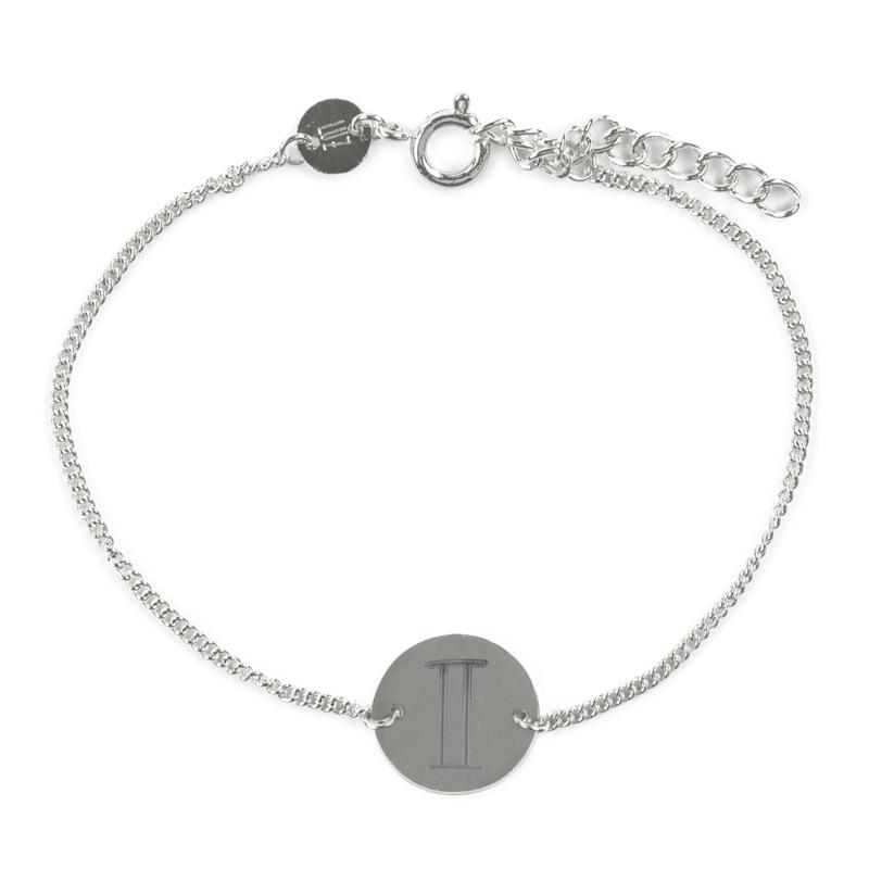 Sterrenbeeld armband tweeling - zilver
