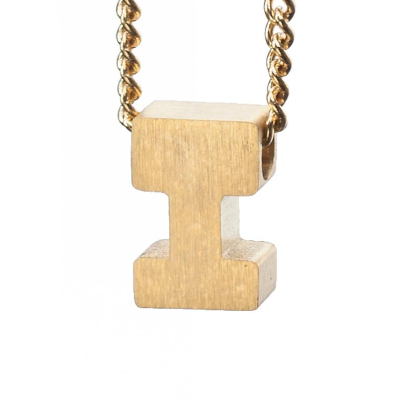 Bedel letter I - goud