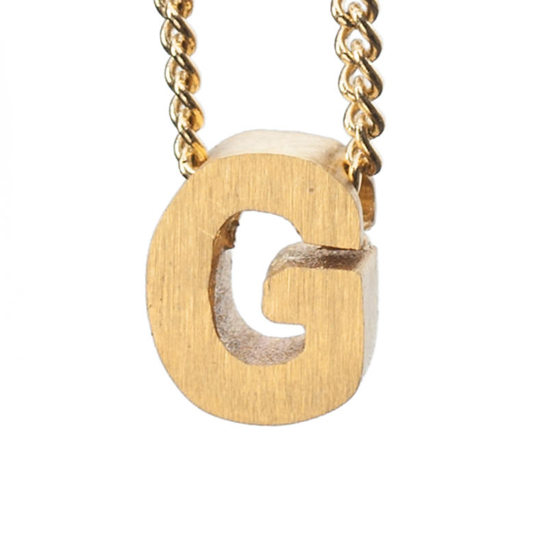 Bedel letter G - goud