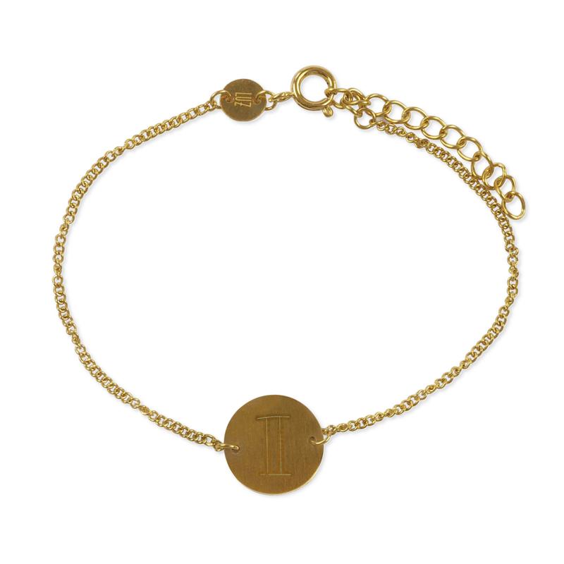 Sterrenbeeld armband tweeling - goud