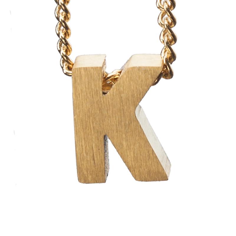 Bedel letter K - goud