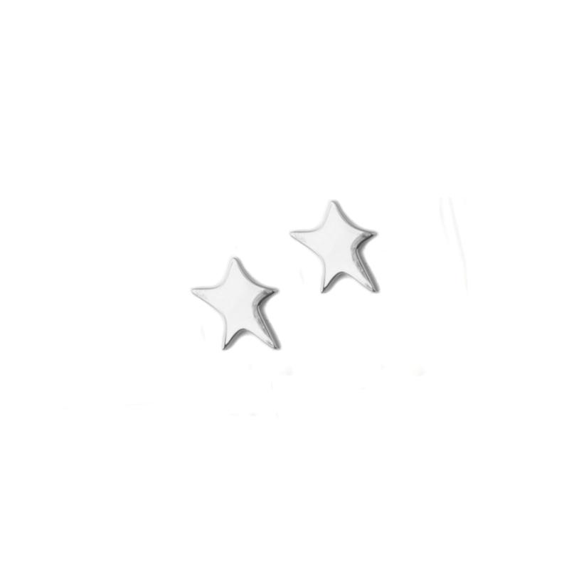 Handmade star zilver