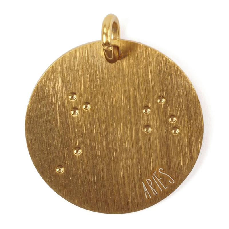 Ram zodiac sky - goud
