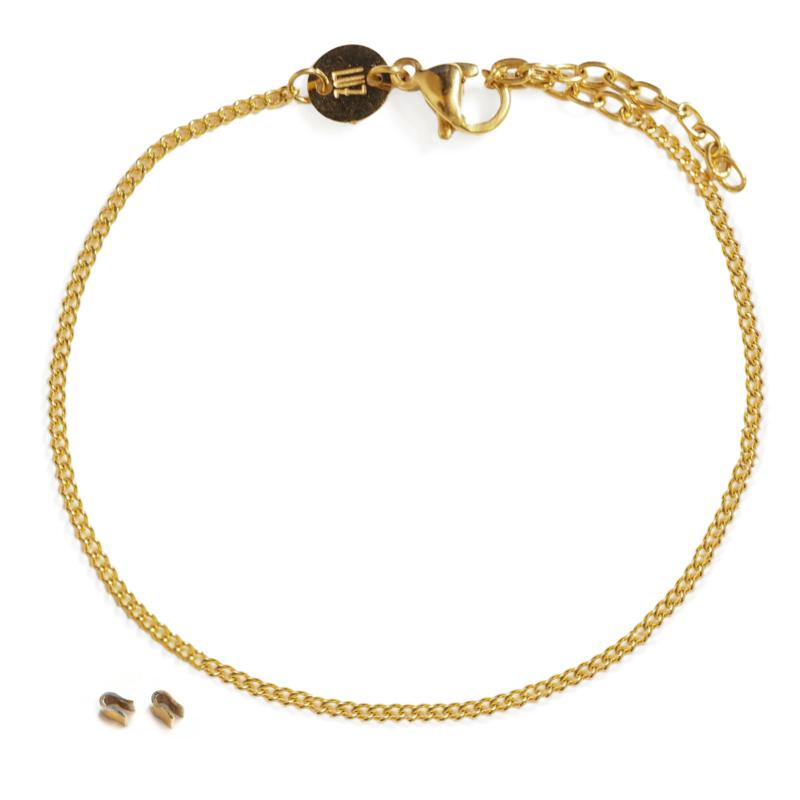 Basis armband - goud