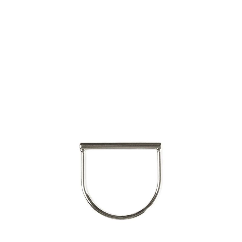 Tubular ring - zilver