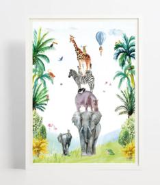 Kinderkamer poster | You'll Never Walk Alone | 30 x 40 cm