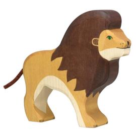 Holztiger houten leeuw (80139)